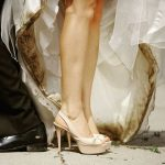 clean a dirty wedding dress